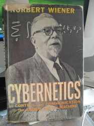 Norbert Wiener &quot;Cybernetics&quot; (Quelle: http://www.wlan.org.uk/weiner2.htm)